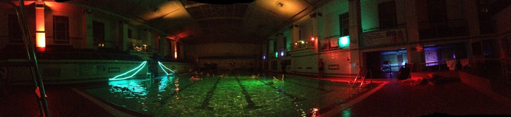 Wet Sounds event at the Exeter Pyramids pool